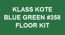Blue Green #358 Floor Kit