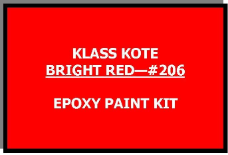 Bright Red #206 Kit