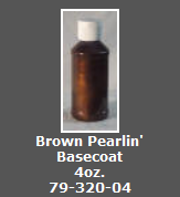 Brown Pearlin' Basecoat