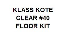 Clear #40 Pool Kit