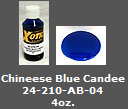 Chineese Blue Candee