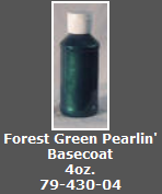 Forest Green Pearlin' Basecoat