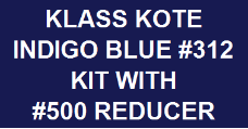 Indigo Blue #312 Kit with Reducer
