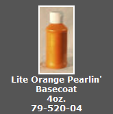 Lite Orange Pearlin' Basecoat