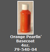 Orange Pearlin' Basecoat