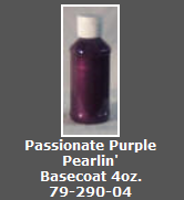 Passionate Purple Pearlin' Basecoat