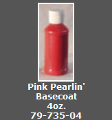 Pink Pearlin' Basecoat