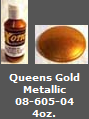 Queens Gold Metallic