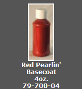 Red Pearlin' Basecoat