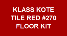 Tile Red #270 Floor Kit