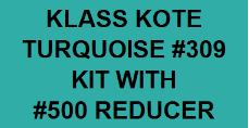 Turquoise #309 Kit with Reducer