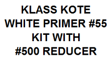 White Primer - #55 Kit with Reducer