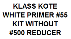White Primer #55 Kit without Reducer