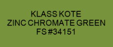 Zinc Chromate Green - FS #34151
