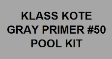 Gray Primer Pool Kit with #415 Catalyst