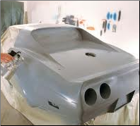 Car with Epoxy Automotive primer