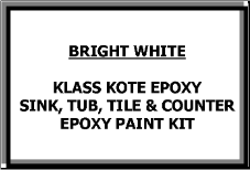 Bright White Bathtub Painting Kit