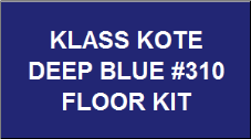 Deep Blue #310 Floor Kit