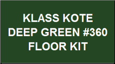 Deep Green #360 Floor Kit