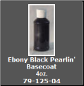 Ebony Black Pearlin' Basecoat