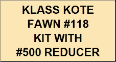 Fawn #118 Kit with Reducer