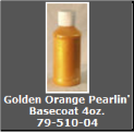 Golden Orange Pearlin' Basecoat