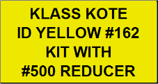 ID Yellow #162 Kit with Reducer