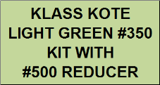 Light Green #350 Kit with Reducer