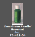 Lime Green Pearlin' Basecoat