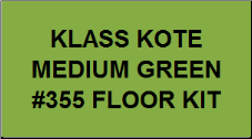 Medium Green #355 Floor Kit
