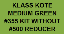 Medium Green #355 Kit without Reducer