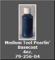 Medium Teel Pearlin' Basecoat