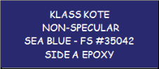 Non-Specular Sea Blue - FS 35042