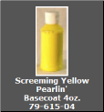 Screeming Yellow Pearlin' Basecoat