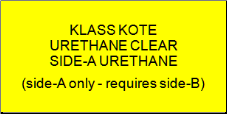 Klass Kote - Urethane Clear - Side-A Only