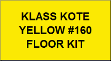 Yellow #160 Floor Kit