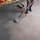 Applying Epoxy paint to garage floor