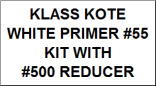 White Primer #55 Kit with Reducer
