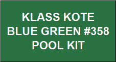 Blue Green Pool Kit