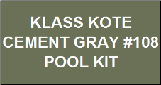 Cement Gray Pool Kit