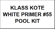 White Primer Pool Kit with #415 Catalyst