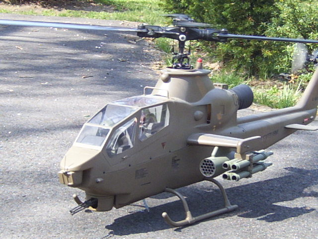 Klass Kote Epoxy painted RC helecopter