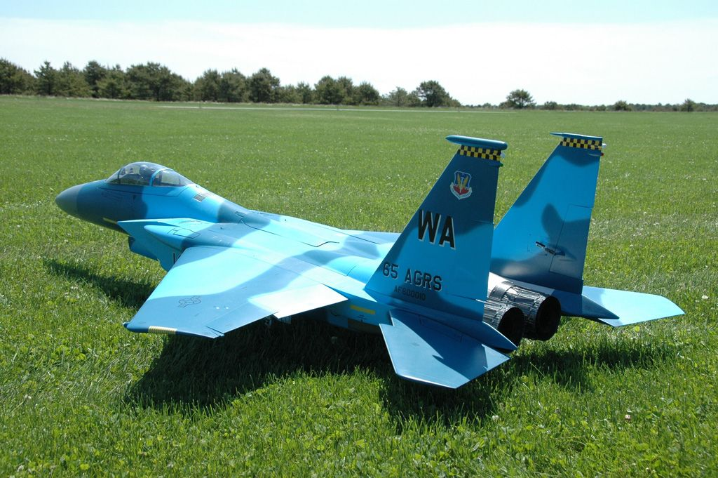 Skymaster F-15 covered w/Klass Kote Epoxy Paints