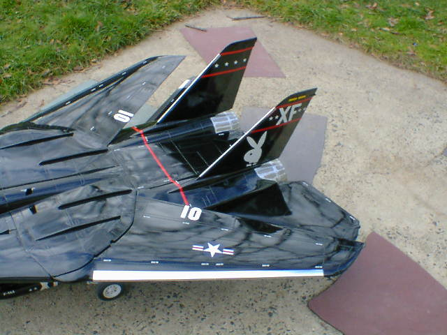 RC model with Klass Kote Epoxy paint