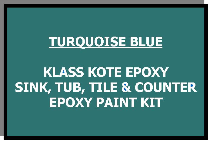 Turquoise Bathtub Painting Kit
