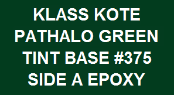 Pathalo Green Base #375