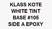 White Tint Base #105