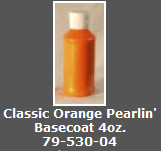 Classic Orange Pearlin' Basecoat