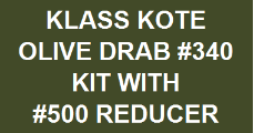 Olive Drab #340 Kit with Reducer
