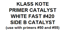 Primer Catalyst White Fast #420